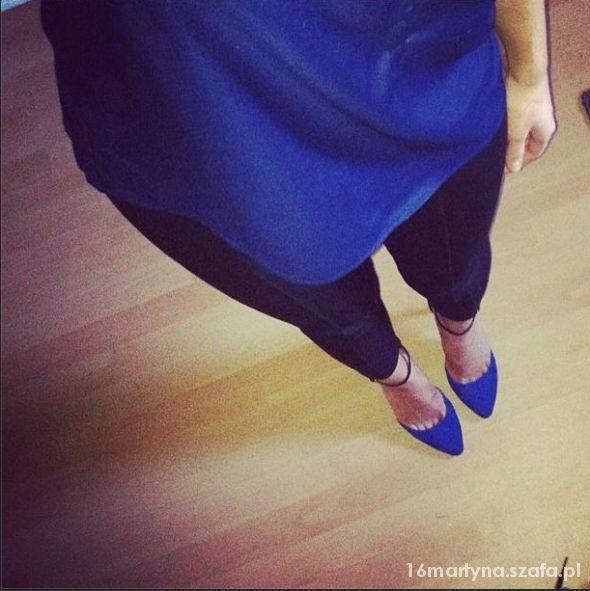 Eleganckie Niebieska stylizacja