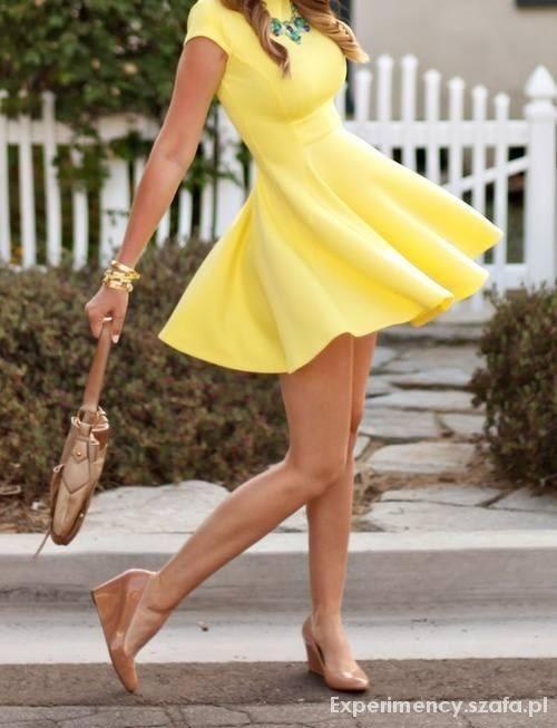 Wasze inspiracje Żółto mi