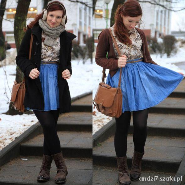 Blogerek Jeans skirt