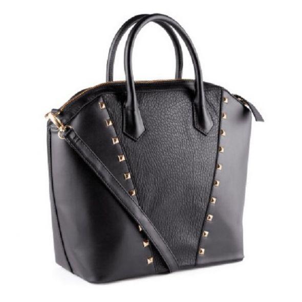 aa5e8586ab146 Duża shopper bag HM torebka złote dżety nowa w Torebki na co dzień ...