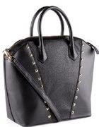 Duża shopper bag H&M torebka złote dżety nowa