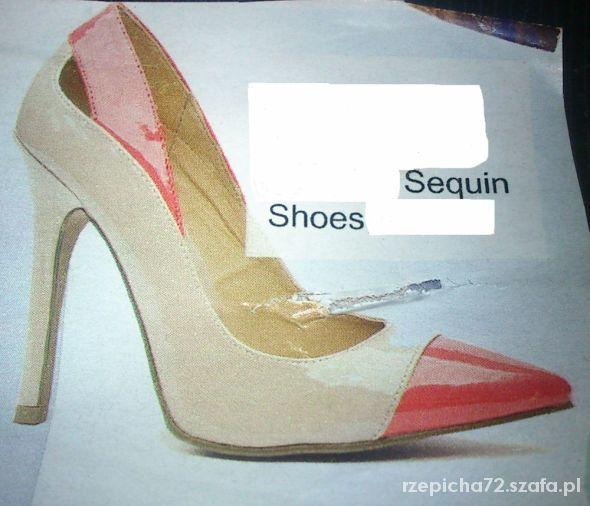 Lakierki Sequin Shoes 39
