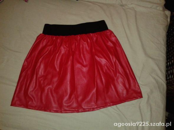 Spódnice spódnica z ekologicznej skóry hit blog maff