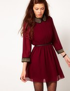 sukienka burgund rozmiar L lub M