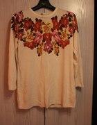 sweterek ze wzorem floral