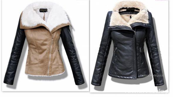kurtka z kożuszkiem
