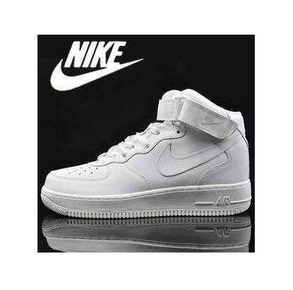 nike air force 1 mid czarne/białe