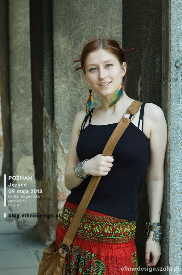 Mój styl Maj 2013 pompy z pawia