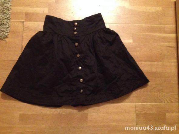Spódnice czarna spódnica H&M rozm S
