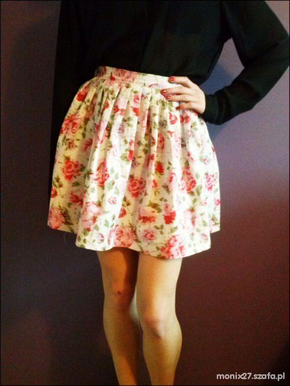 Spódnice Spódnica kwiecista