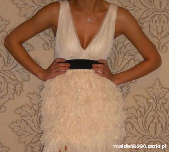 Suknie i sukienki Brzoskwiniowa H&M 38