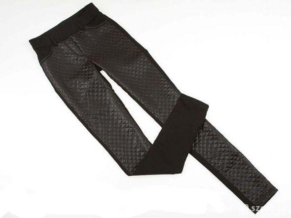 pikowane spodnie