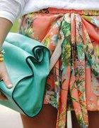 spódnica Zara kwiaty