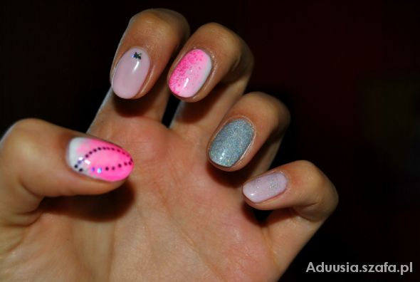 Blogerek manicure hybrydowy