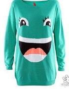 sweter h&m uśmiech