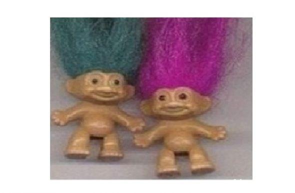 trolle z czuprynami
