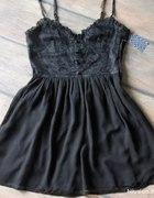 czarna lub czerwona sukienka h&m koronka rozmiar40...
