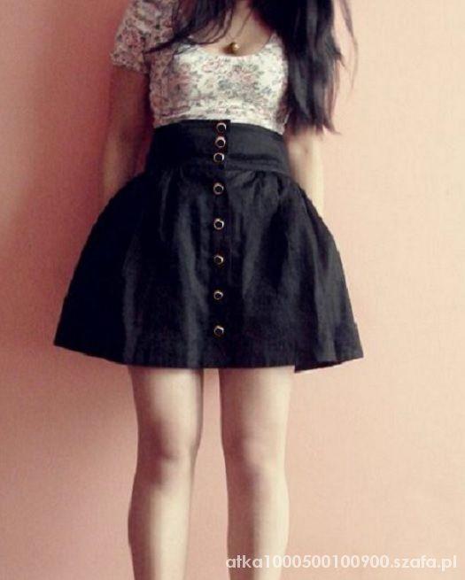 Spódnice Rozkloszowana spódniczka nowa H&M