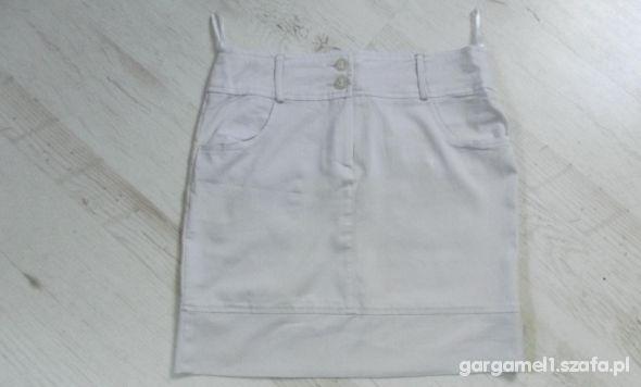Spódnice biała spódnica mini