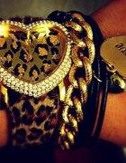zegarek w panterkę