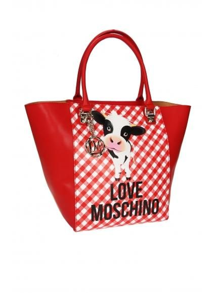 LOVE MOSCHINO MOOOU BAG...