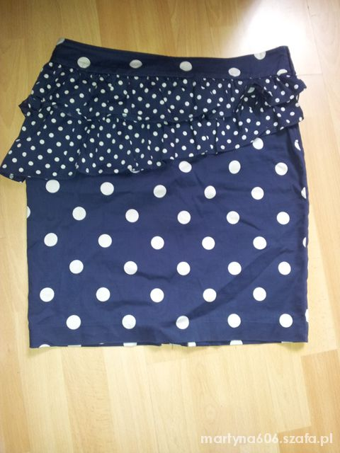 Spódnice spódnica baskinka H&M w grochy