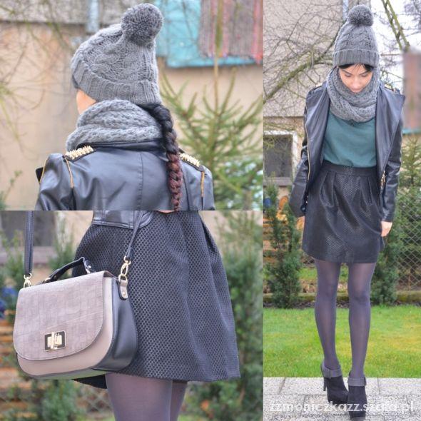 Blogerek gray look