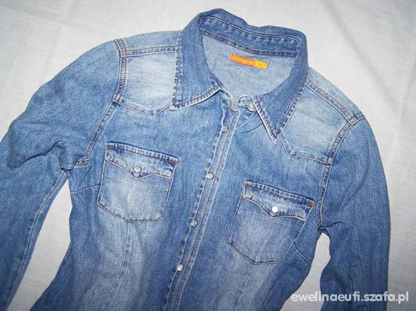 Fischbone New Yorker koszula jeans Dżinsowa S M