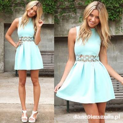 Ubrania sukienka z koronką z Australii firmy sabo skirt