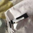 Wyjątkowa spódnica ołówkowa Mohito biało srebrna