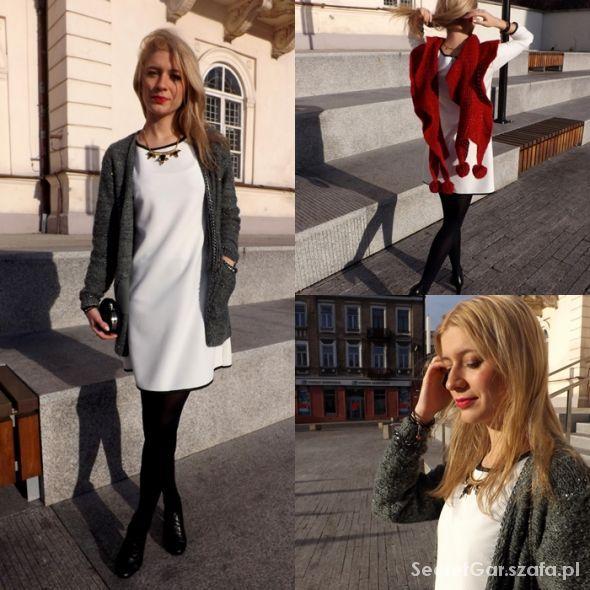 Romantyczne Biała sukienka