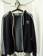 bluza adidas czarna firebird oldschool l must have