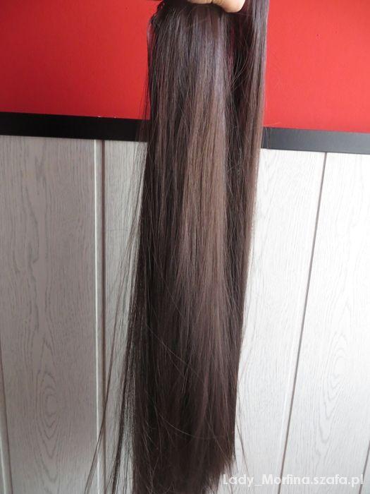 Pozostałe Włosy Clip in syntetyczne długie treska