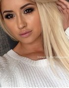 czarne oczka u blondynki BETTY