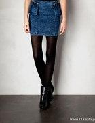 Spódnica jeansowa Pull&Bear...