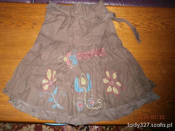 Spódnice brązowa spódnica 36 S Promod