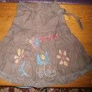 brązowa spódnica 36 S Promod