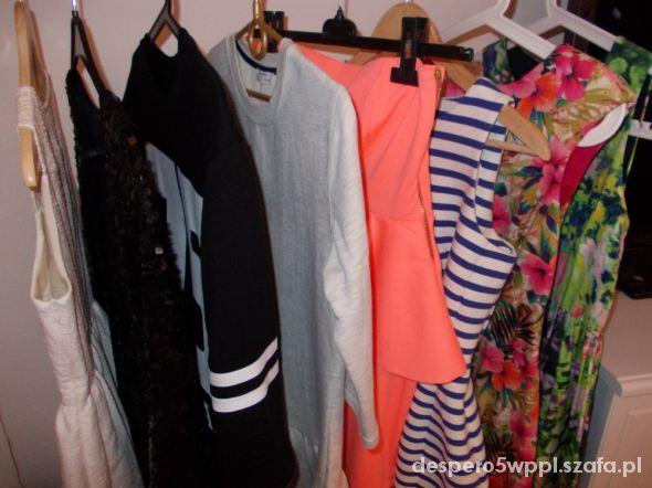 Przegląd szafy 2014 sukienki i spódniczki