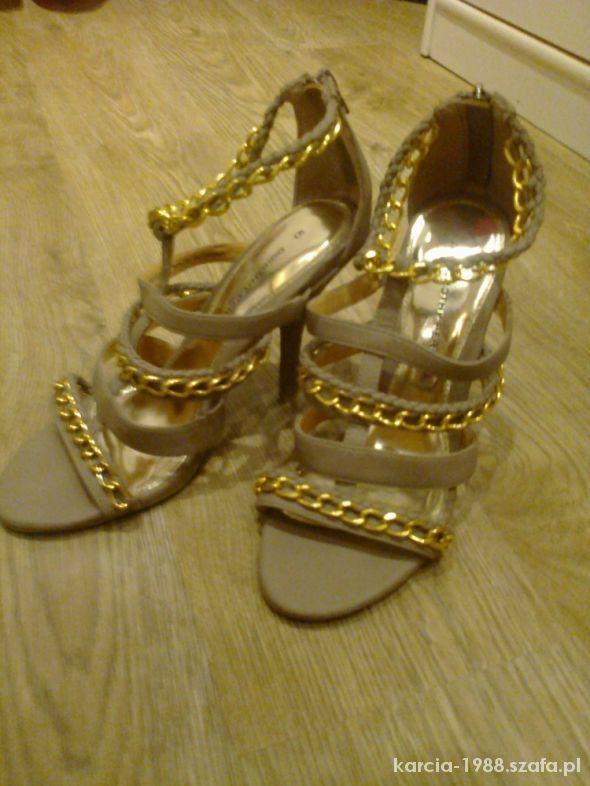 Szpilki nowe szpilki sandałki dorothy perkins 38 cena 19zł