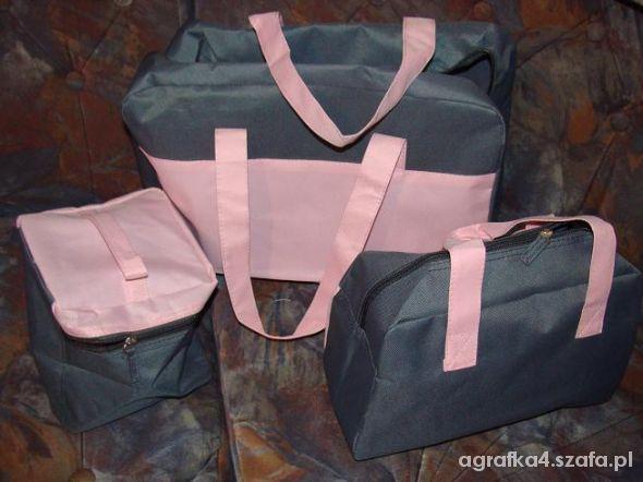 Pozostałe NOWY zestaw podróżny kosmetyczka torba