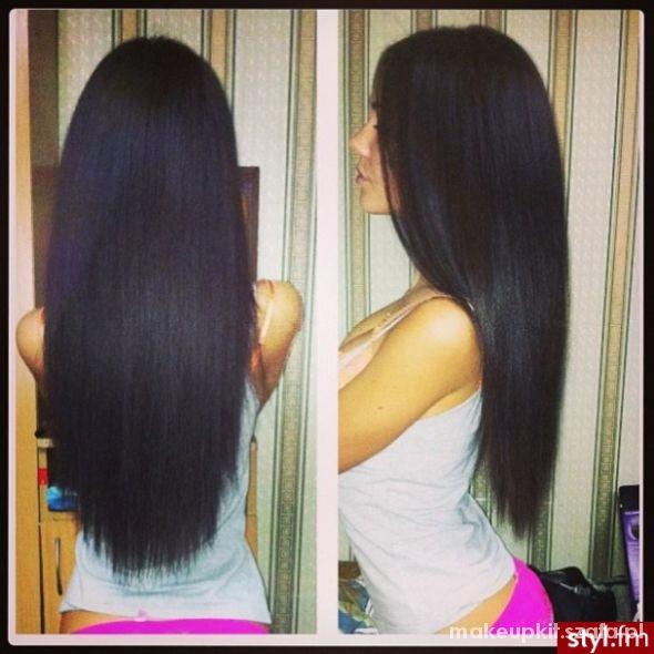 Włosy długie...