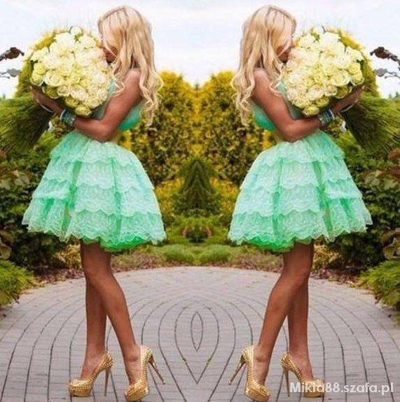 Romantyczne Cudowne zdjęcie śliczna sukienka i te róże
