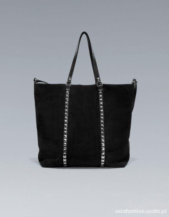 szukam tej torebki z ćwiekami Zara zamszowa