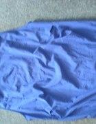 Sukienka Vila XL chabrowa kobaltowa z marszczeniam