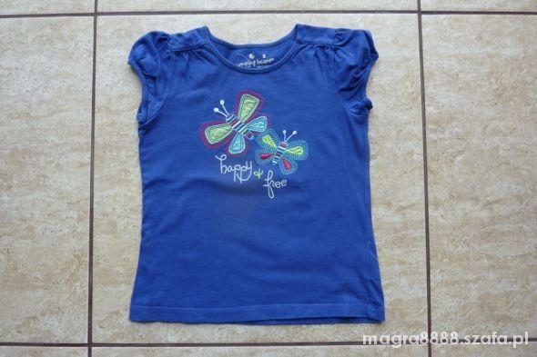 Koszulki, podkoszulki Koszulka wiosenna dla dziewczynki rozmiar 104 110