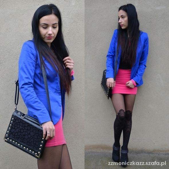 Blogerek pink skirt