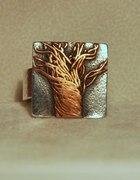 drzewo w srebrze 925...