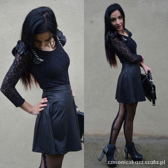 Blogerek Black look