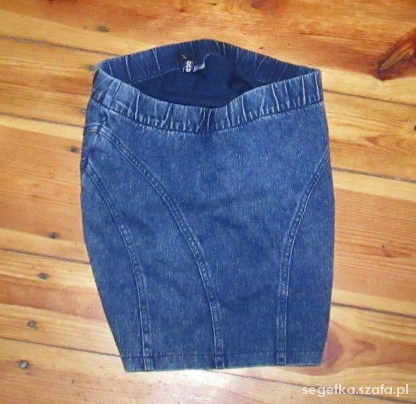 Spódnice marmurkowa spodniczka H&M s m