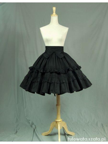 Spódnica gothic lolita
